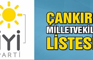 İYİ Parti Çankırı milletvekili kesin aday listesi