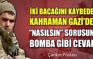 Kahraman Gazi'den o soruya bomba gibi cevap!