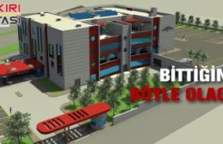 Kurşunlu'ya Yeni Hastane