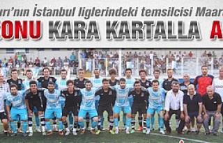 Marufspor sezonu Kara kartalla açtı!