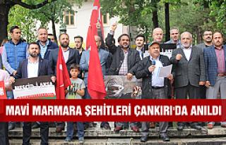 Mavi Marmara şehitleri Çankırı'da anıldı