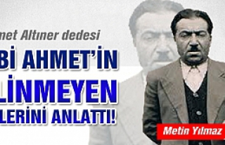 Mehmet Altıner: Dedem Dobi Ahmet, Rıza Nergiz'in...