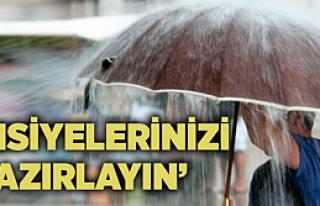 Meteorolojiden Çankırı için şiddetli yağış...