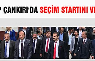 MHP Çankırı'da seçim startını verdi