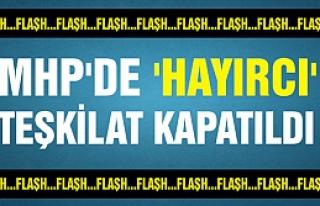 MHP'de 'Hayır' diyen ilçe yönetimi fesih edildi...
