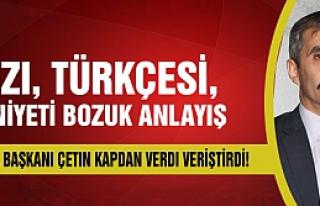 MHP'li Kapdan Filiz'e verdi veriştirdi