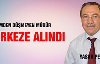Milli Eğitim Müdürü Yaşar Petek merkeze alındı!