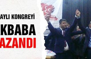 Olaylı geçen MHP Kongresini Akbaba kazandı