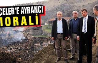 Rektör Ayrancı Serçeler'in Üzüntüsüne Ortak...