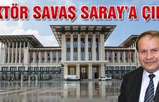 Rektör Savaş Saray'a çıktı!
