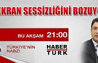 Şahin, Habertürk TV'de Didem Arslan'ın konuğu!...