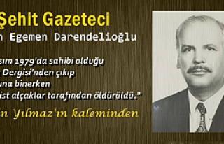 Şehit Gazeteci İlhan Egemen Darendelioğlu (1921...