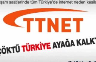 Çankırı'da İntenet bağlantısı çöktü Türkiye...