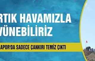 Türkiye'de temiz hava sadece Çankırı'da