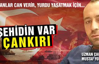 Uzman Çavuş Mustafa Yorulmaz Kuzey Irak'ta...