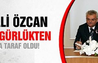 Vali Vahdettin Özcan özgürlükçü çıktı!