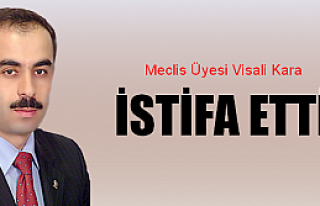 Visali Kara  istifa etti