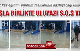 Yağan yağmurla birlikte Uluyazı SOS verdi!