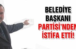 Yapraklı'da Belediye Başkanı partisinden istifa...
