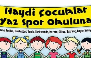 Yaz spor okulu kayıtları başladı!