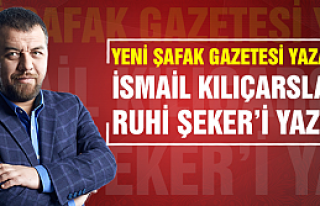 Yeni Şafak gazetesi yazarından Ruhi Şeker yazısı...