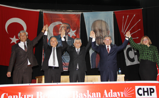 CHP Çankırı'da 4 adayını tanıttı!