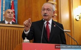 Kılıçdaroğlu, Kızlaryolu Barajını grup toplantısında konuştu!