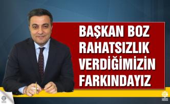 Başkan Boz: Kaldırım ve yol çalışmalarını değerlendirdi