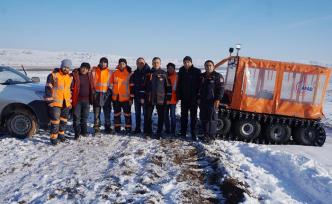 Karda mahsur kalan Demiryolu Personelini AFAD Kurtardı