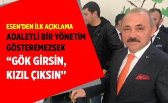 Esen, Çankırı'nın Belediye Başkanı olacağız