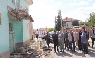 Bakan Yardımcısı İsmail Çataklı, deprem bölgesinde...