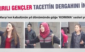 Çankırılı Gençler Tacettin Dergahını inletti