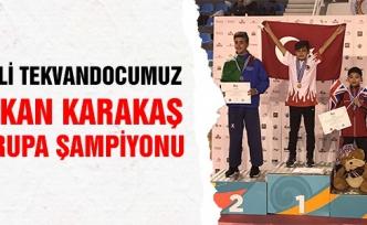 Milli Tekvandocumuz Hakan Karakaş Avrupa Şampiyonu