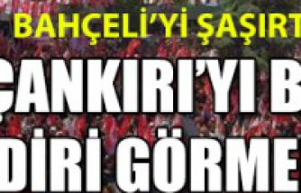 MHP Devlet Bahçeli Çankırı Mitingi