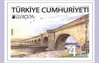 """Uzunköprü görseliyle """"Altın Pul"""" ödülü Türkiye'nin!"""