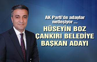 AK Parti Çankırı Belediye Başkan adayı Hüseyin Boz oldu!
