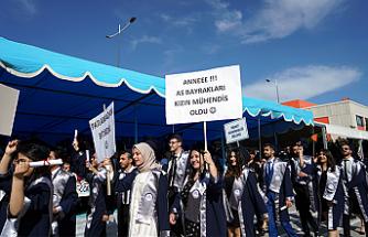 Çankırı Karatekin Üniversitesi 12. dönem Mezunlarını verdi!