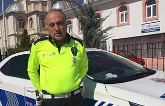 Durmayan sürücünün otomobiliyle çarptığı polis şehit oldu!