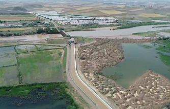 Kızılırmak'ta Sel Felaketi Havadan Görüntülendi!