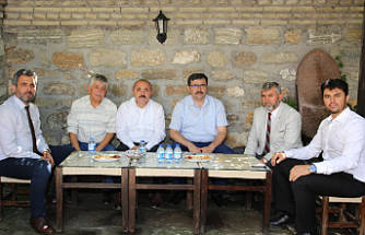 Başkan Esen, Siyasi Parti İl Başkanlarıyla Buluştu