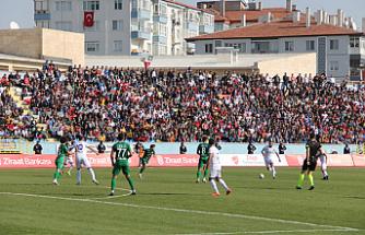 1074 Çankırıspor Ziraat Türkiye Kupasına veda etti!
