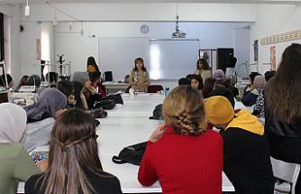Pınar Olgaç Moda ve Tekstil Tasarımı Öğrencilerine deneyimlerini aktardı!