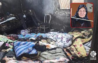 Çankırı'da çıkan yangında bir kişi öldü!