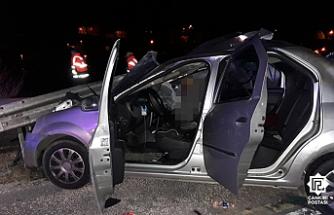 Ilgaz'da trafik kazası: 1 kişi öldü, 1'si ağır 3 kişi yaralandı.