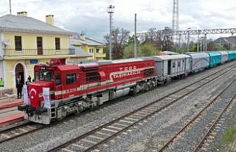 Samsun-Sivas demiryolu hattı 5 yıl aradan sonra yeniden açıldı