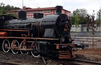 Tarihi Buharlı Lokomotifler Çankırı'da Sergilenecek
