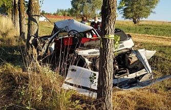 Çankırı'da ölümlü trafik kazası!