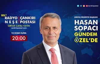 Çerkeş Belediye Başkanı Hasan Sopacı Gündem Özel'in canlı yayın konuğu...