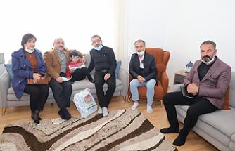 Başkan Esen'den Sağlık Çalışanlarına Anlamlı Ziyaret