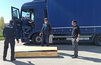 Çankırı'da TIR sürücüsü aracında ölü bulundu!